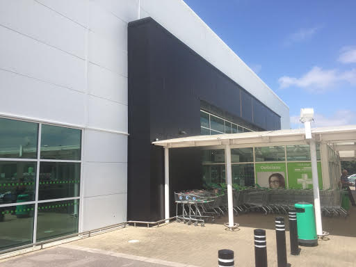Refurbishment of the existing cladding to the exterior facade of Asda Havant Store in Hampshire