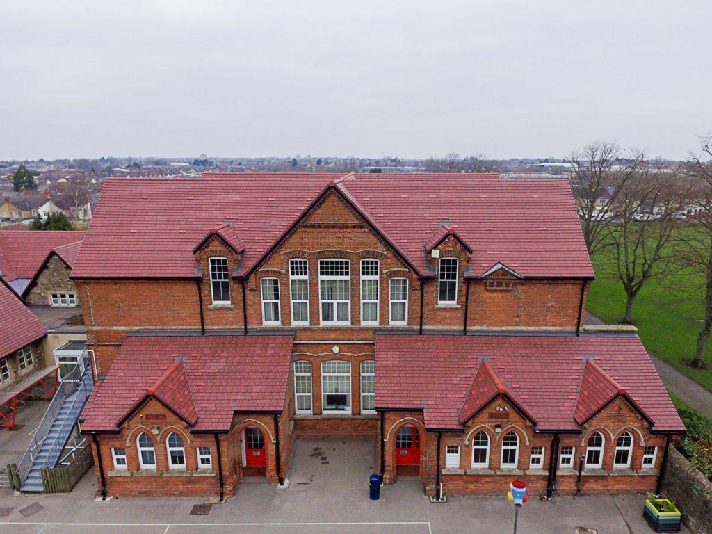A sympathetic restoration and refurbishment of Gorse Hill Junior and Primary School in Swindon, Wiltshire.