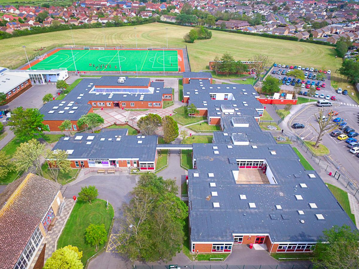 The King Alfred Academy School Davis Roofing Ltd