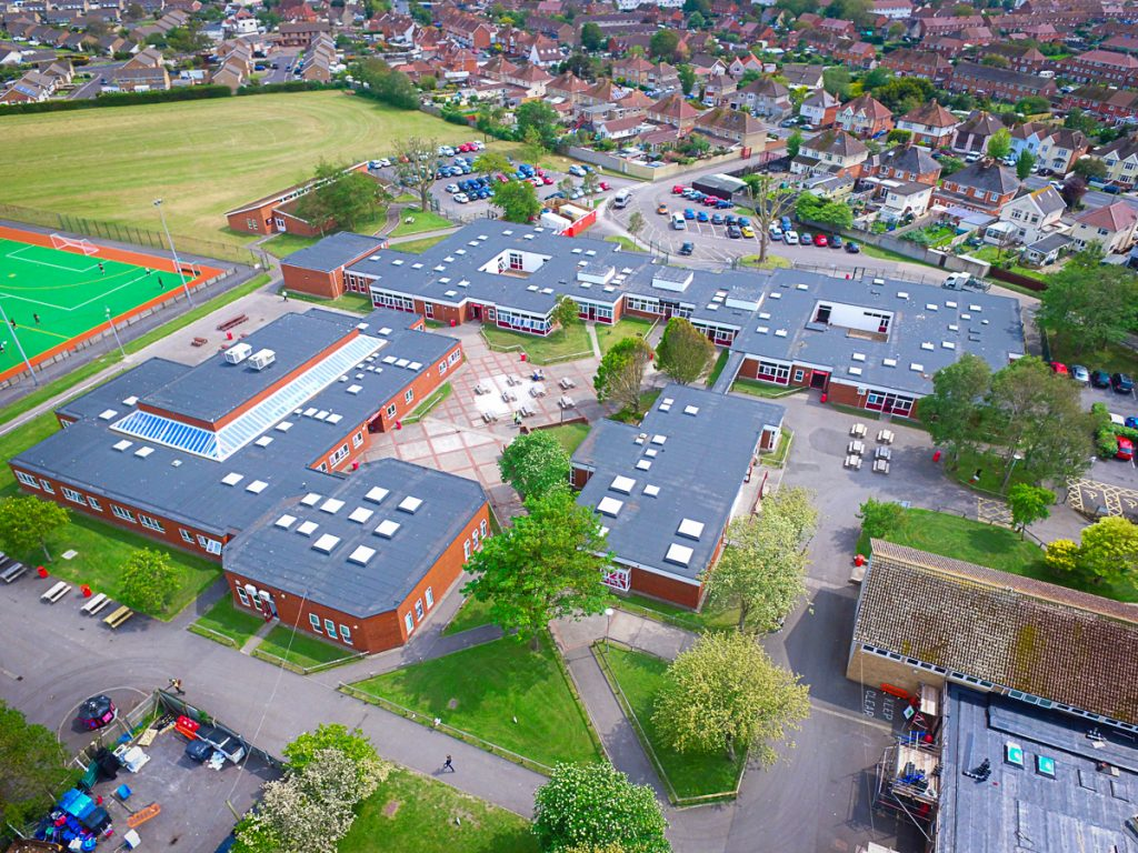 Large scale refurbishment of an Academy status secondary school in Highbridge, Somerset.